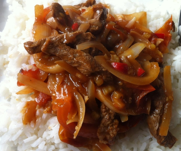 Chinese beef tomato with boiled rice | Healthy Diet Recipes