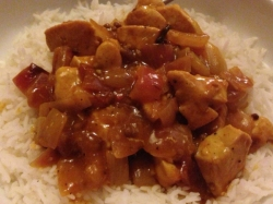 chip shop style chicken curry